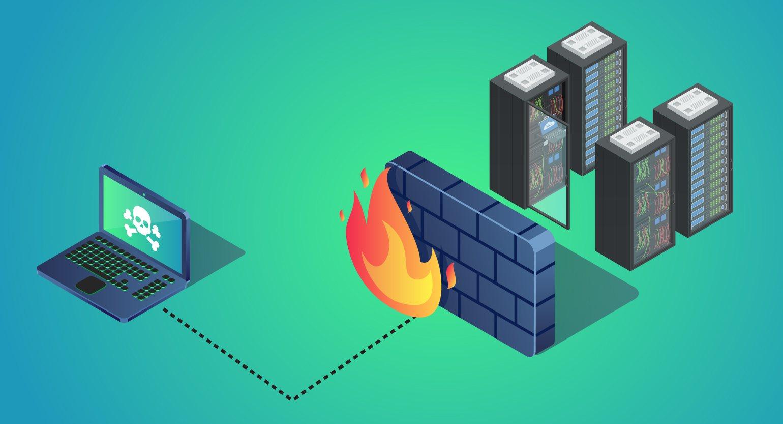 فایروال یا دیوار آتش چیست؟ انواع فایروال ها و حمله هایی که فایروال بلاک میکند