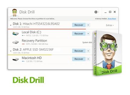 دانلود Disk Drill Professional v2.0.0.339 - نرم افزار بازیابی اطلاعات پاک شده