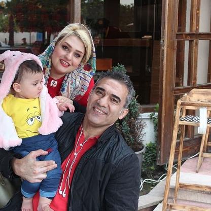 محمدرضا عابد زاده و همسرش