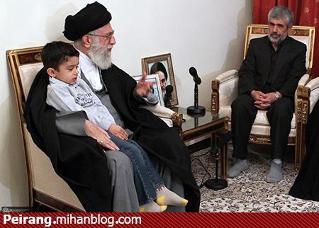 حاج رحیم پدر شهید احمدی روشن