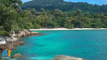 جزیره پانگکور در مالزی
