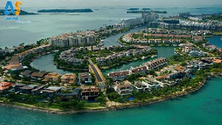 جزیره سنتوزا در سنگاپور