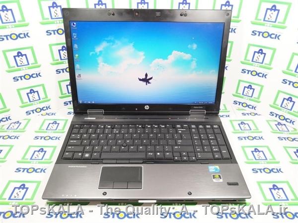 فروش لپ تاپ کارکرده HP مدل 8540w