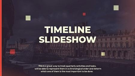 دانلود پروژه افترافکت رایگان : MotionArray Modern Timeline Slideshow