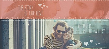 دانلود رایگان پروژه افترافکت عاشقانه : The Story of Love Videohive