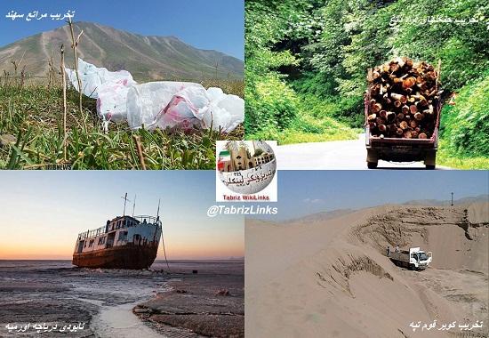 محیط زیست آذربایجان شرقی