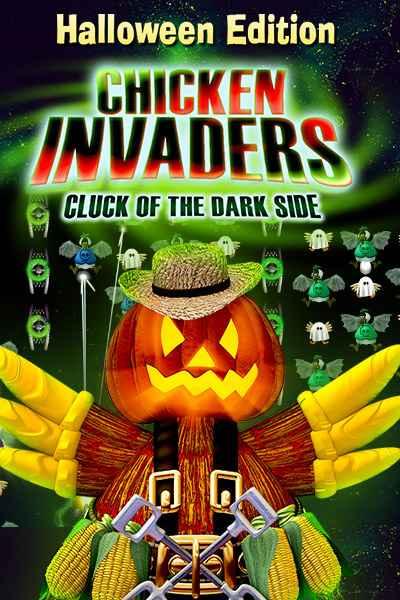 دانلود بازی Chicken Invaders 5 Halloween Edition برای کامپیوتر