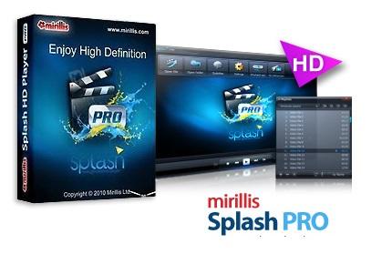 دانلود Mirillis Splash v2.2.0 - نرم افزار تماشای فایل های ویدئویی