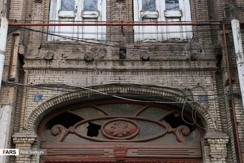 جداره های قدیمی تبریز