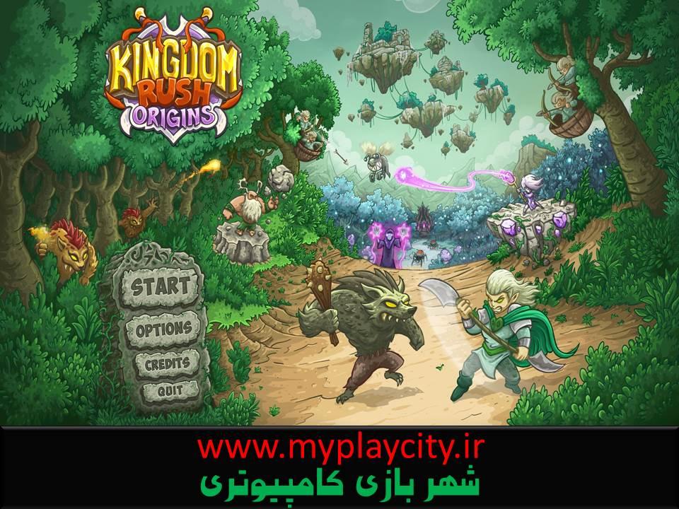 دانلود بازی Kingdom Rush Origins برای کامپیوتر