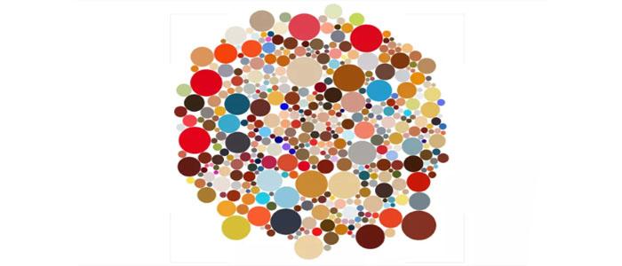 اپلیکیشنی به نام Year of Colour که رنگ پستهای اینستاگرام شما را رصد میکند