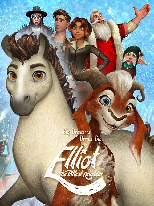 دانلود رایگان کارتون سینمایی الیوت کوچکترین گوزن شمالی با دوبله فارسی