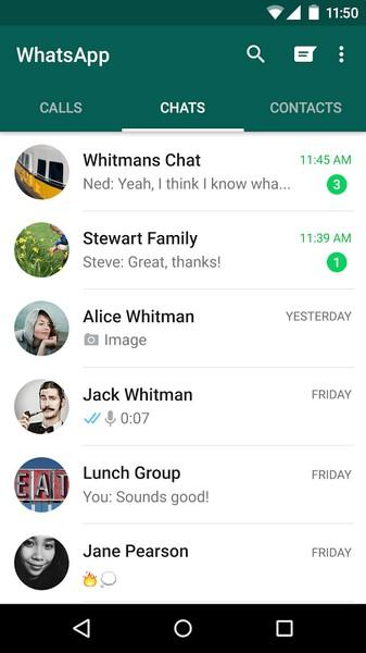 دانلود WhatsApp Messenger برای تمام گوشی های اندروید