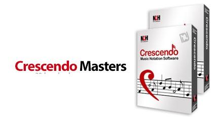 دانلود NCH Crescendo Masters v4.00 Beta - نرم افزار مدیریت و نوشتن نت های موسیقی