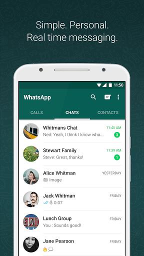 دانلود به روز رسانی و نسخه جدید واتس اپ WhatsApp 2.19.1 برای اندروید + استیکر