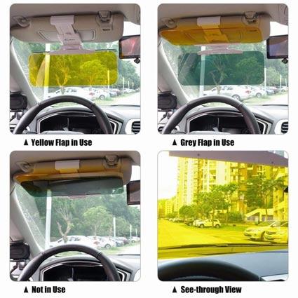 سفارش آفتابگیر شیشه جلو خودرو