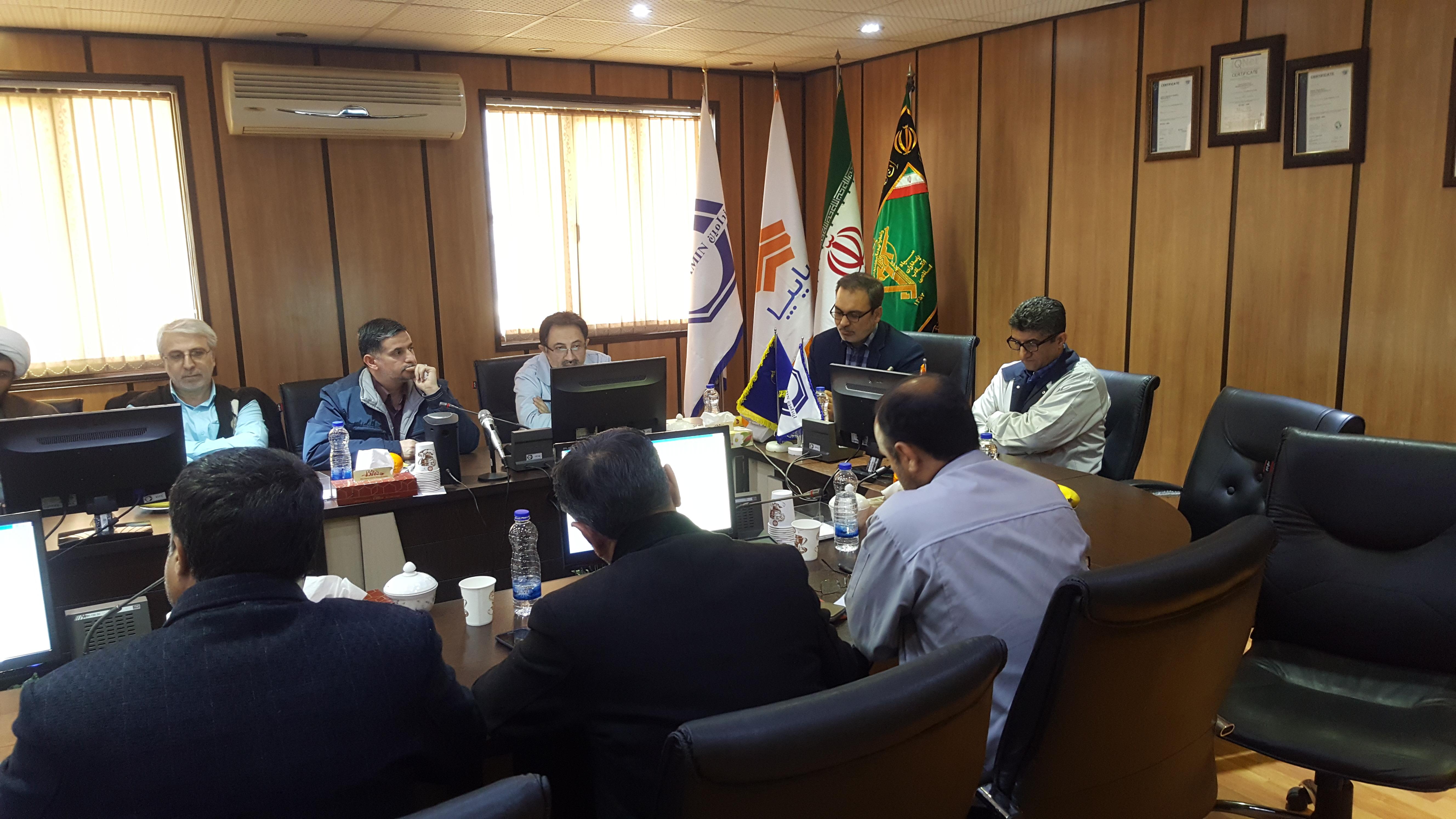 تشکیل شورای حوزه بسیج گروه سایپا  با حضور مدیر عامل محترم شرکت ایندامین سايپا