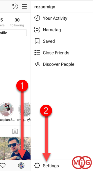 Privacy Instagram Methods