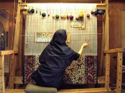 جایگزینی برای هنر قالیبافان ایرانی وجود ندارد