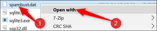 فایل DAT چیست و نمایش فایلهایDAT