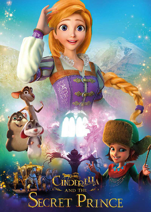 دانلود انیمیشن سیندرلا و راز پرنسس Cinderella and the Secret Prince 2018
