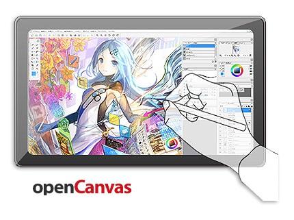 دانلود OpenCanvas v7.0.20 - نرم افزار طراحی و نقاشی تصاویر