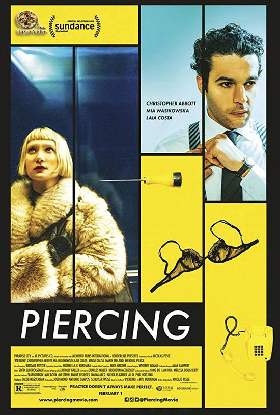 دانلود فیلم پر سر و صدا - Piercing 2018