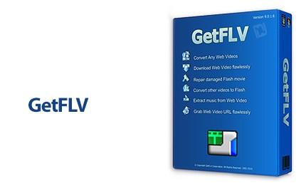 دانلود GetFLV Pro v11.6558.866 - دانلود فایل های تصویری FLV و اجرای آن ها در کامپیوتر