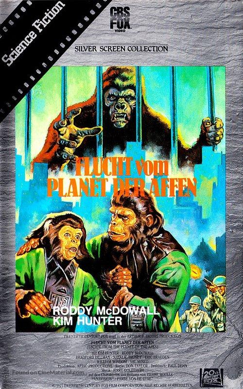 دانلود دوبله فارسی فیلم فرار سیاره میمونها Escape from the Planet of the Apes 1971