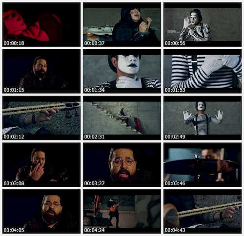 دانلود موزیک ویدیو جدید رضا صادقی به نام بغض و باروت