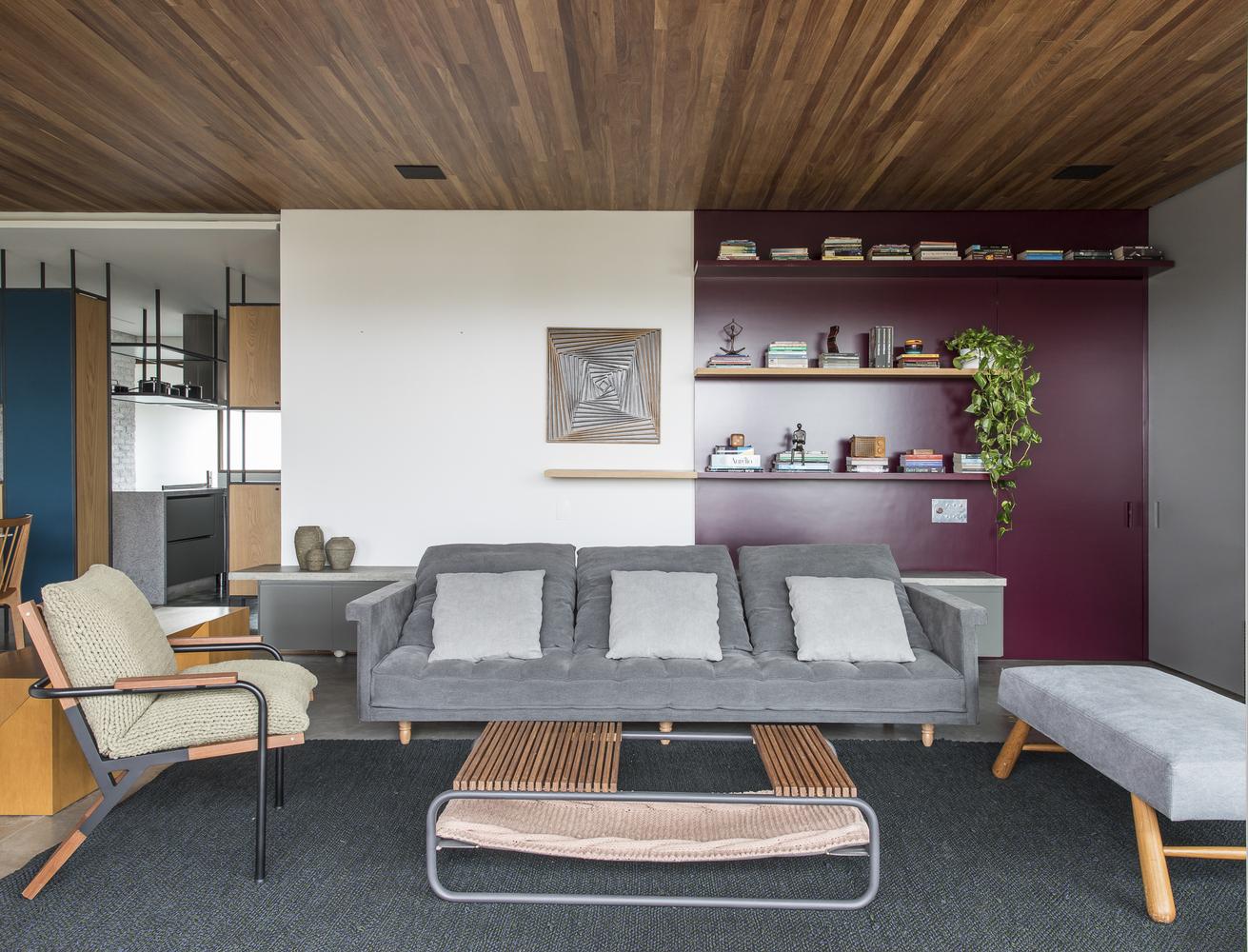 فضاسازی معاصر در آپارتمان میرا