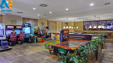 محل بازی کودکان در هتل آستریا کرملین پالاس آنتالیا