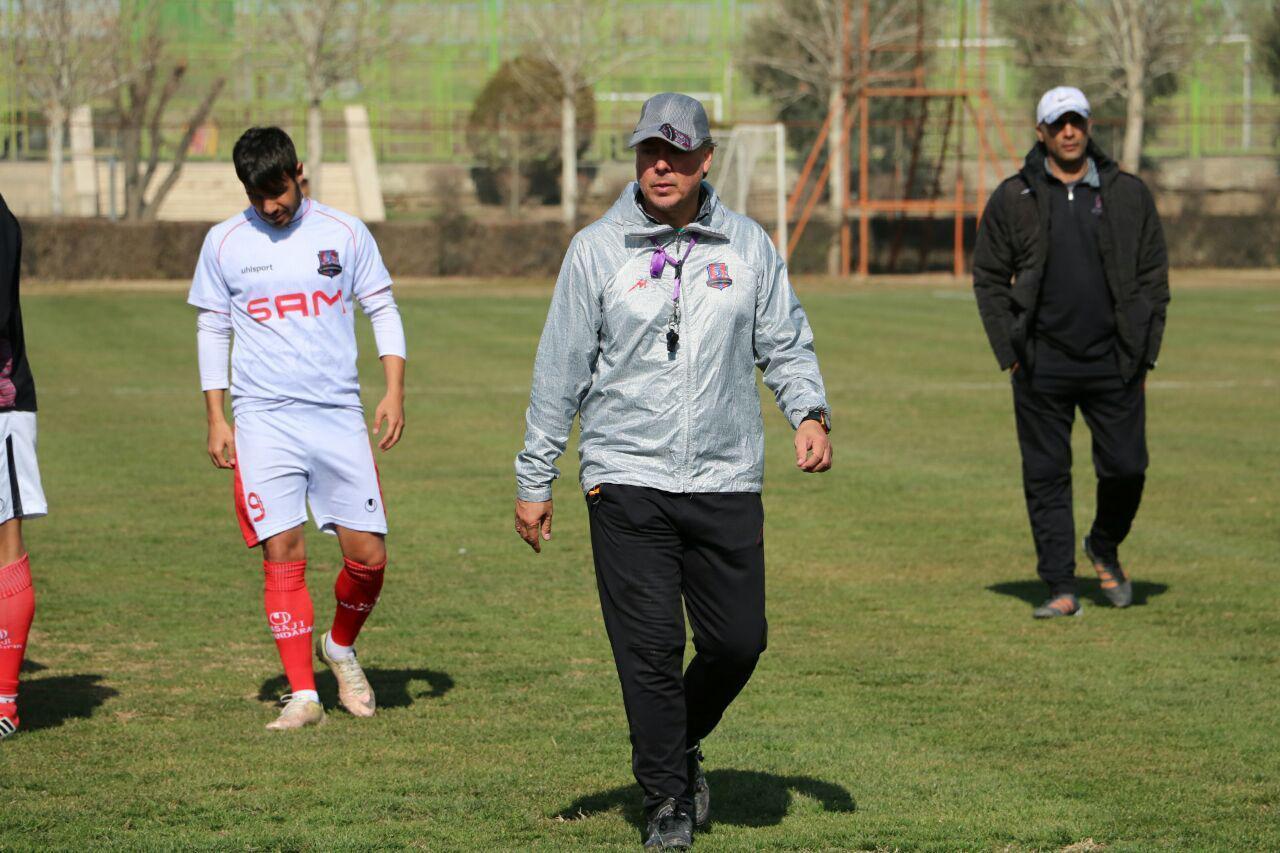 پیروزی پرگل نساجی مازندران قبل دیدار با ذوب آهن