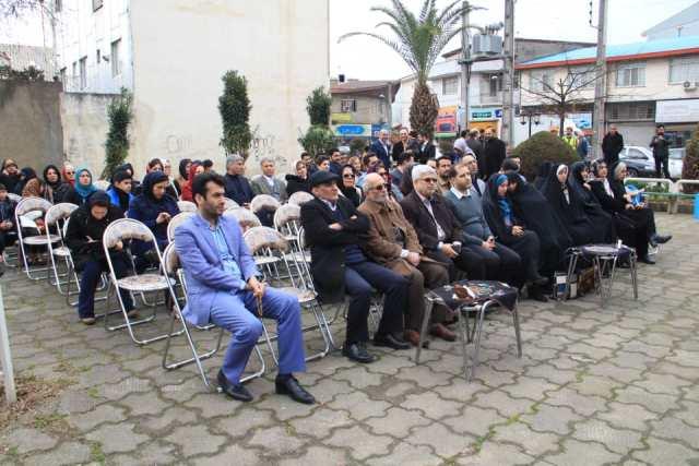 افتتاح مرکز «گیل بانو» به مناسبت چله انقلاب در بوستان کشاورز رشت