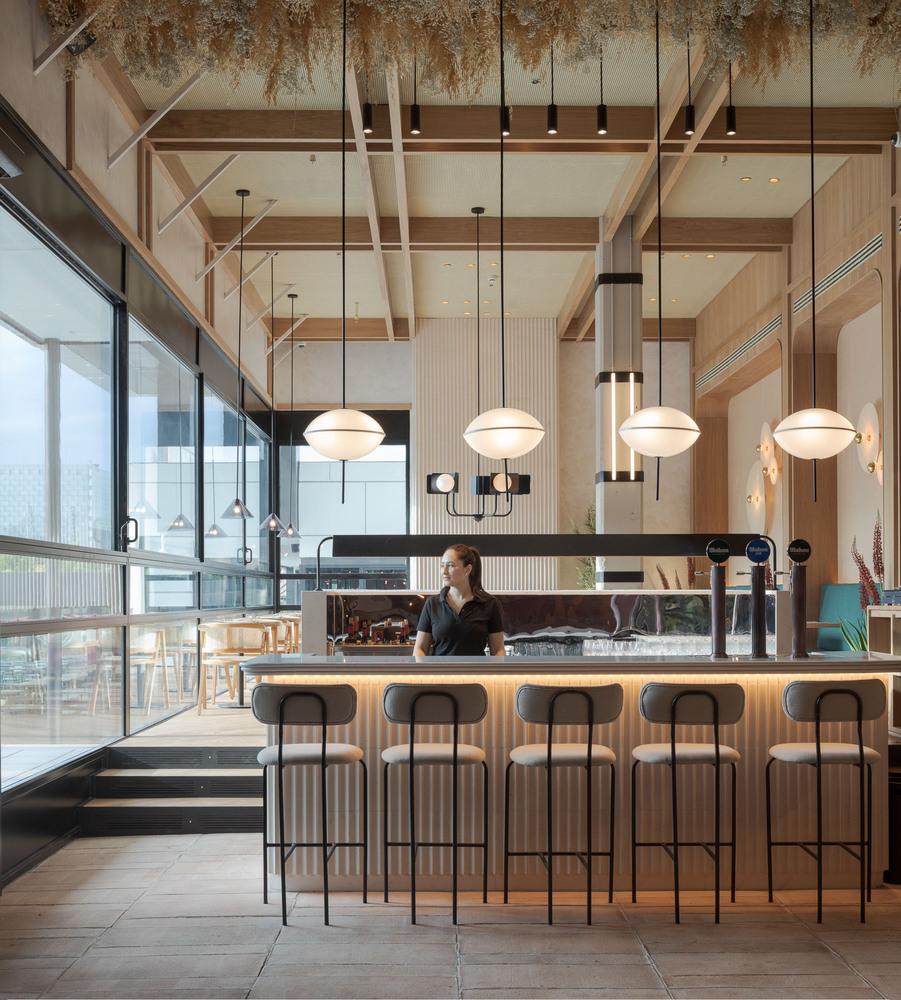 طراحی فضای متفاوتی برای رستوران