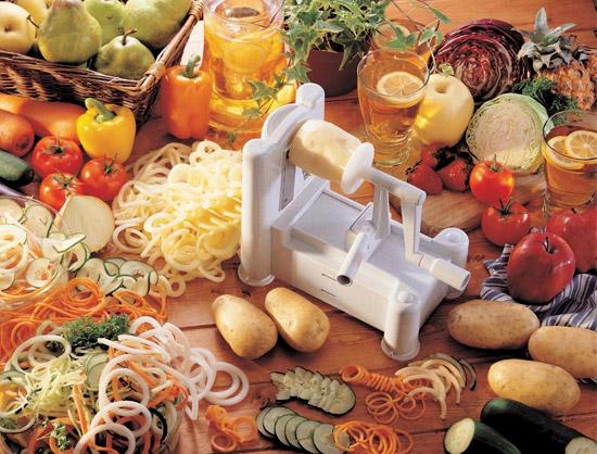 رشته کن سبزیجات اسپیرال