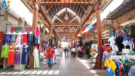بازار Deira Grand Souk- در دبی