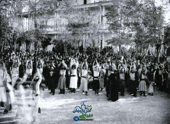 عزاداری قدیم تبریز