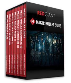 مجموعه پلاگین Magic Bullet Suite ابزار اصلاح رنگ و ظاهر فیلم
