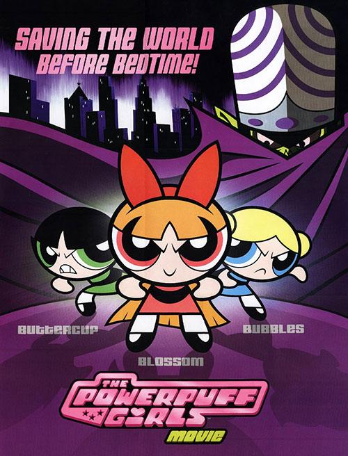 دانلود انیمیشن دختران نیرومند The Powerpuff Girls Movie 2002