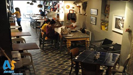 کافه ماورا Mavra  در استانبول