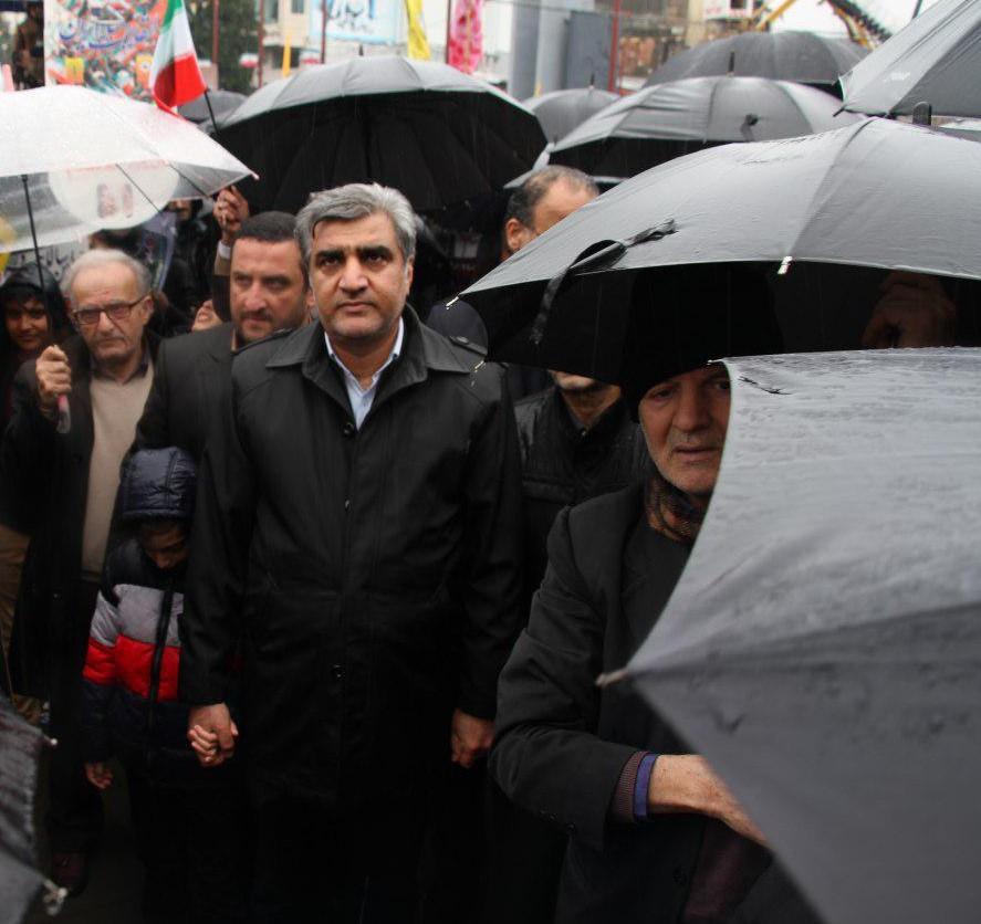 پیام قدردانی استاندار گیلان از حضور امیدبخش گیلانیان در راهپیمایی روز ۲۲ بهمن