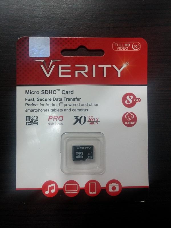 verity 8gb class 10 30mb/s micro sd memory card verity 8gb class 10 30mb/s micro sd memory card VERITY 8GB Class 10 30MB/s micro SD Memory Card Verity MicroSDHC Card 8GB