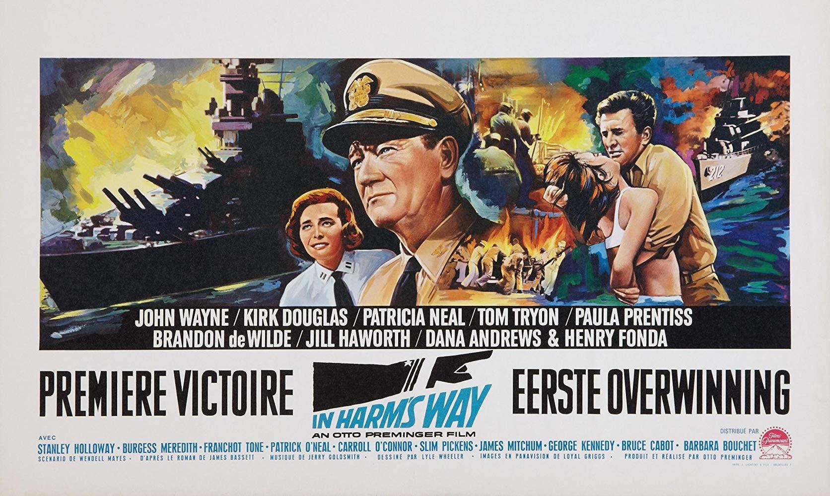 دانلود دوبله فارسی فیلم در راه خطر In Harm's Way 1965