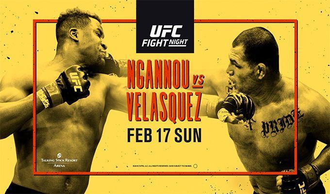 دانلود رویداد یو اف سی :UFC on ESPN 1: Ngannou vs. Velasquez