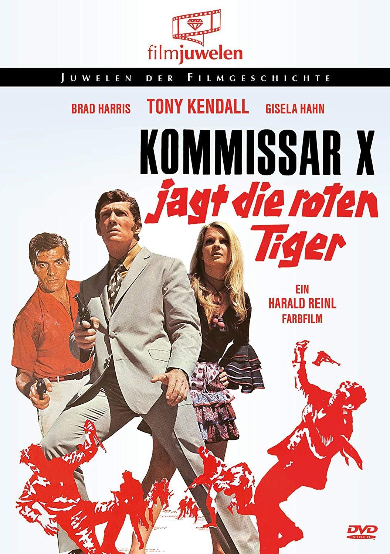 دانلود دوبله فارسی فیلم کمیسرایکس و سه مار طلایی Kommissar X – Drei goldene Schlangen 1969