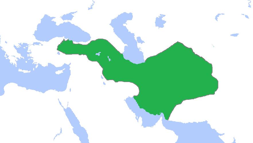 نقشه قلمرو مادها