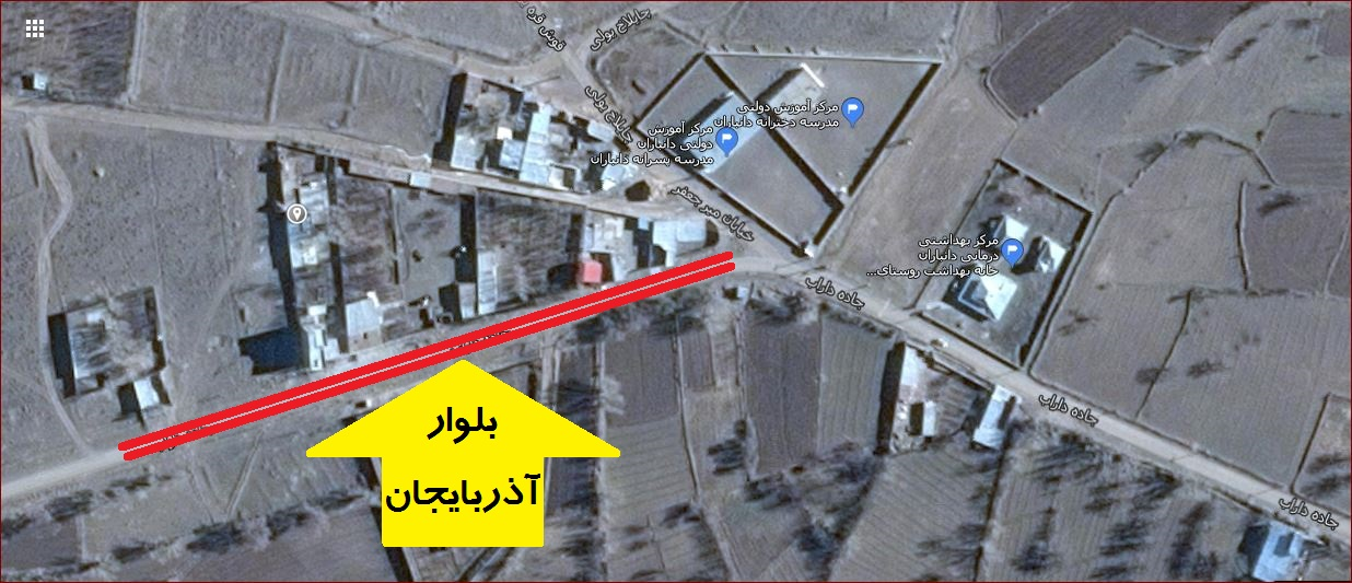 عکس ماهواره ای بلوار