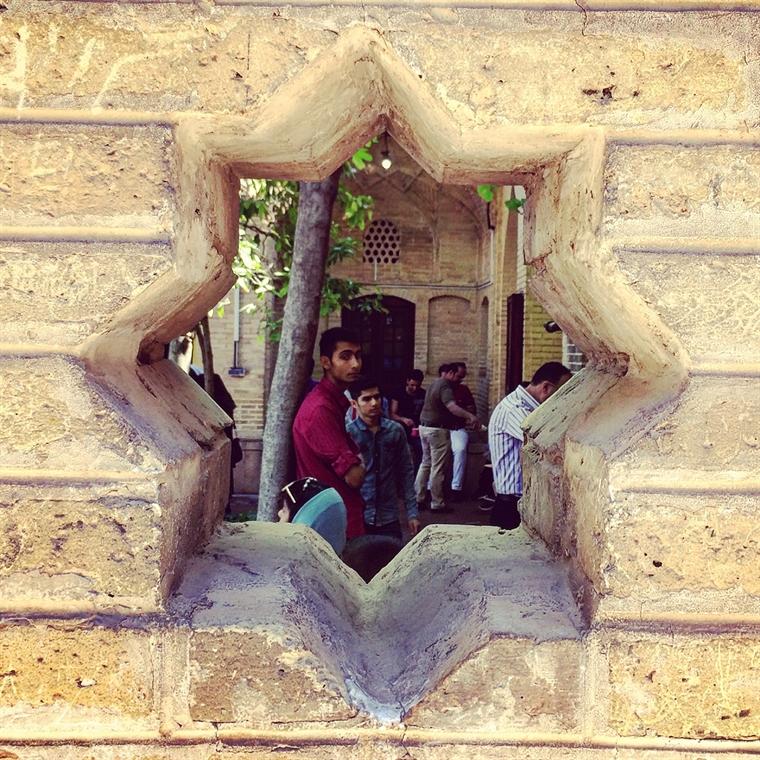 شیراز - دیوار مشبک