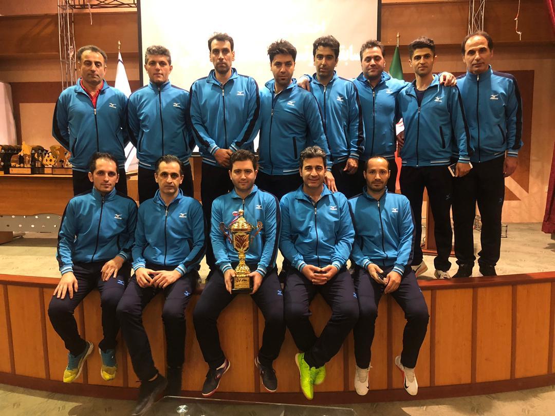 گیلان قهرمان مسابقات فوتسال کارکنان شد